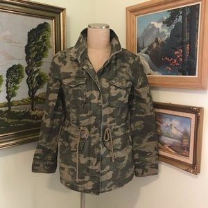 Camo/Camouflage Twill Jacket, M